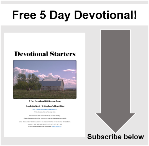 Free 5 Day Devotional!