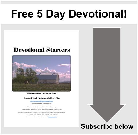 Free 5 Day Devotional!