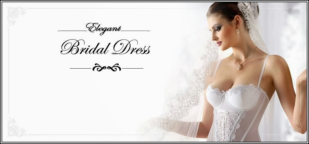 Elegant Bridal Dress