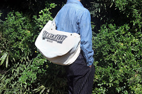 BELAFONTE-Herringbone Newspaper Bag