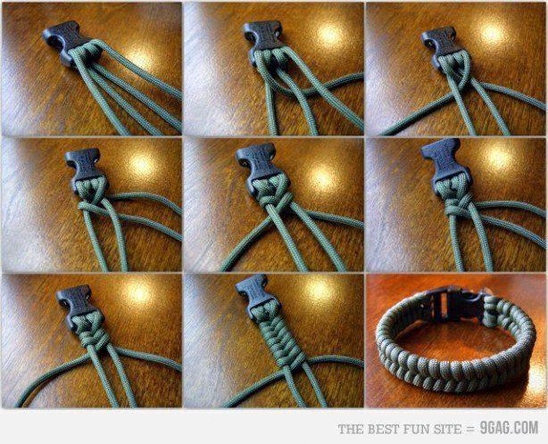 id es fait main comment faire un bracelet avec un lacet. Black Bedroom Furniture Sets. Home Design Ideas
