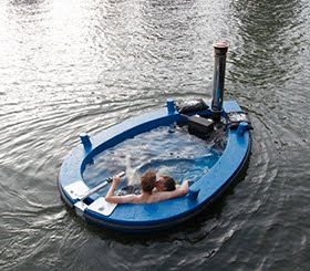 A Motorized Hot Tub