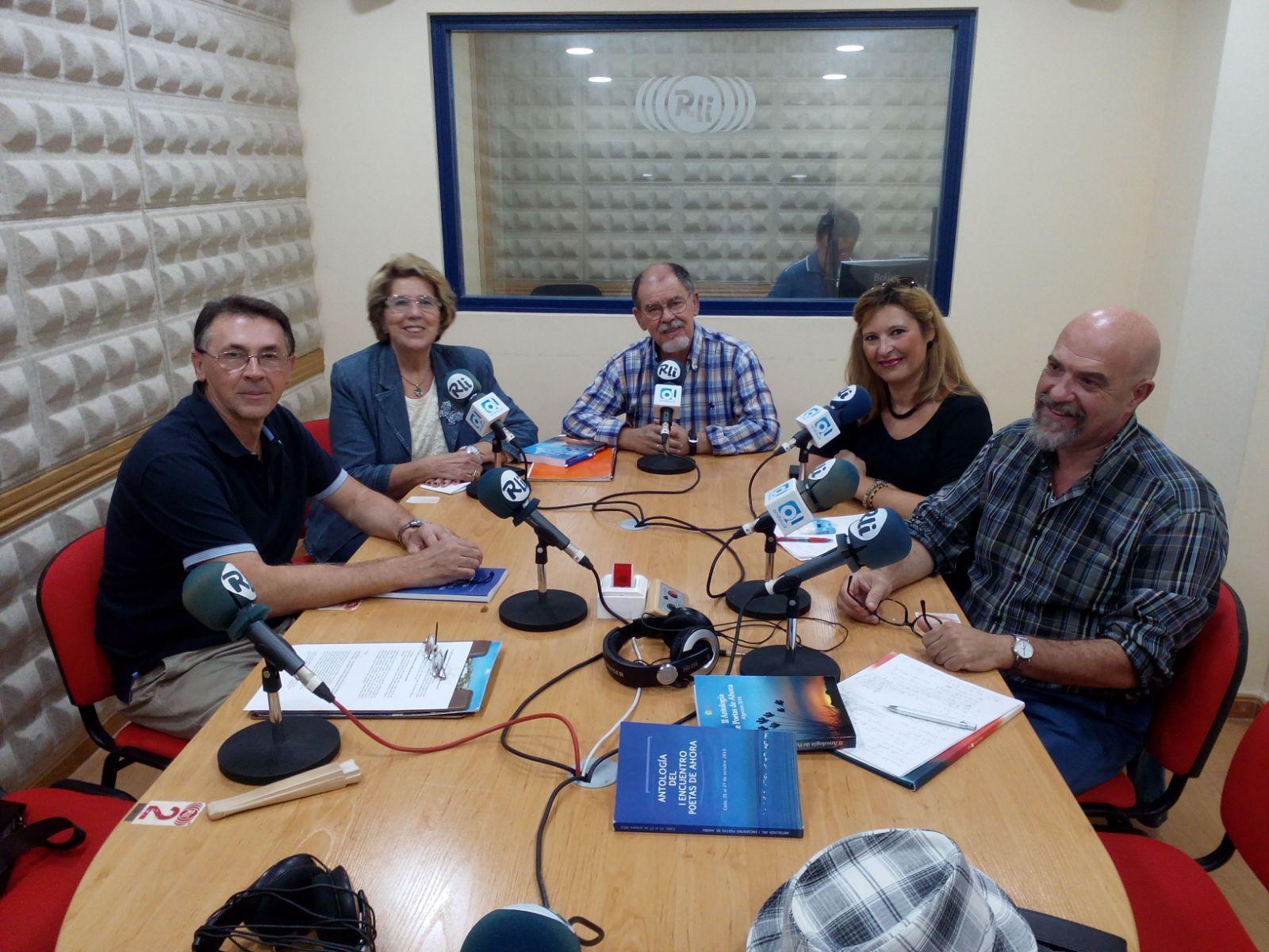 Anuncio del evento en Radio La Isla