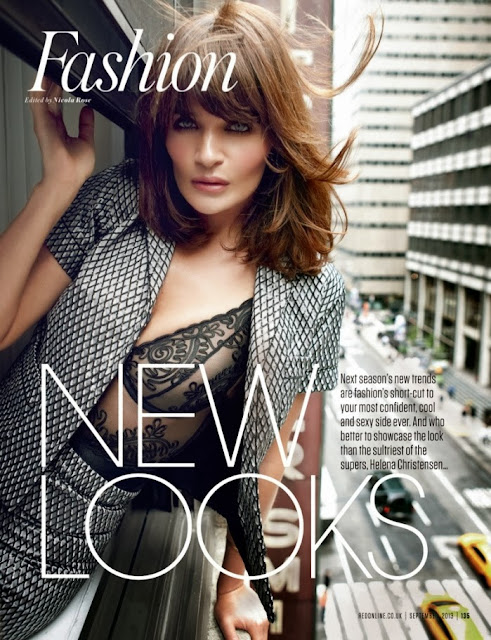 Helena Christensen su Red Uk