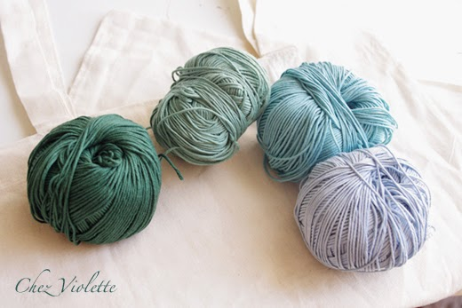 DIY Tuto bordure dentelle au crochet sur un Tote Bag - Chez Violette