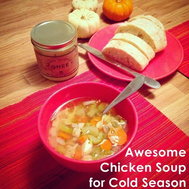 Chicken Noodle Soup for Colds