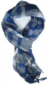 cachecol lenco azul