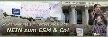 ESM-Klage - Wir solidarisieren uns!