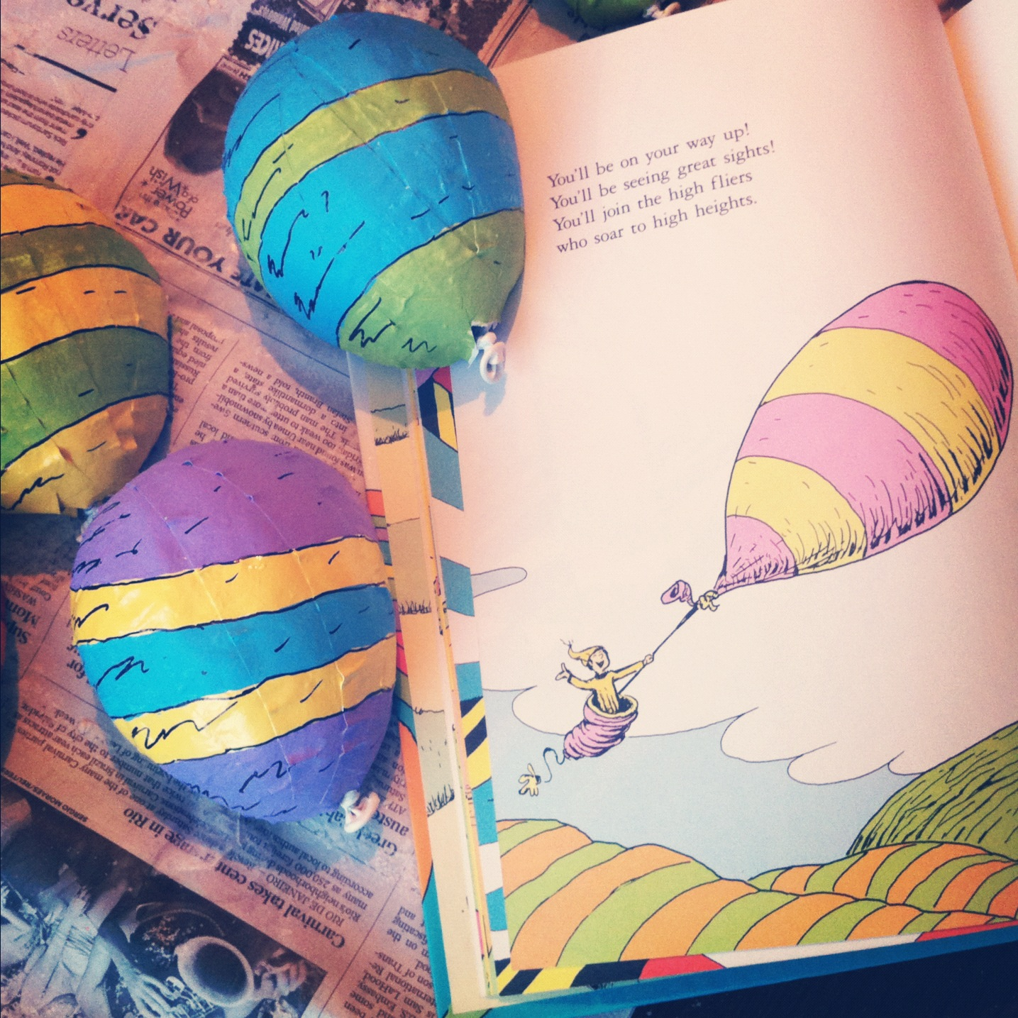 Buggie and Jellybean Happy Birthday Dr Seuss – Oh the Places You Ll Go Worksheets