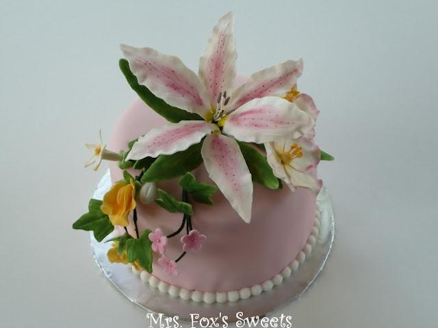 Ms. Fox s Sweets: Wilton Course 4: Advanced Gum Paste ...
