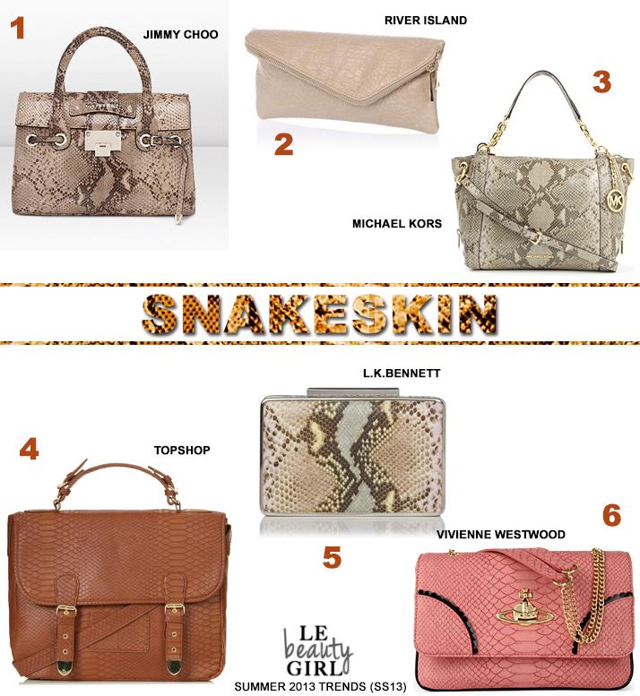Top Summer 2013 Handbag Trends (SS13)