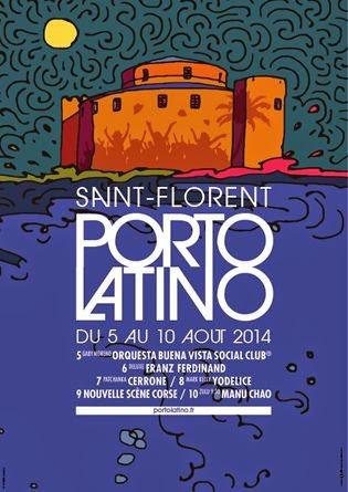 Affiche du festival Porto Latino