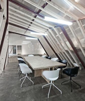 Vivo arquitectura oficinas y sala de exhibici n por archi for Oficina abierta definicion