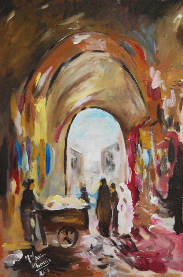 CULTURE DE TUNISIE EN IMAGES- MOHAMED HAMDANE: PEINTURE/PEINTRES TUNISIENS