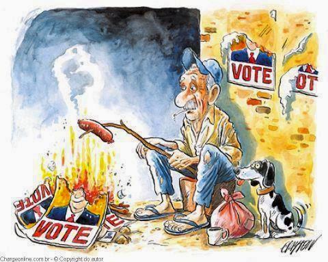 As eleições e a realidade.