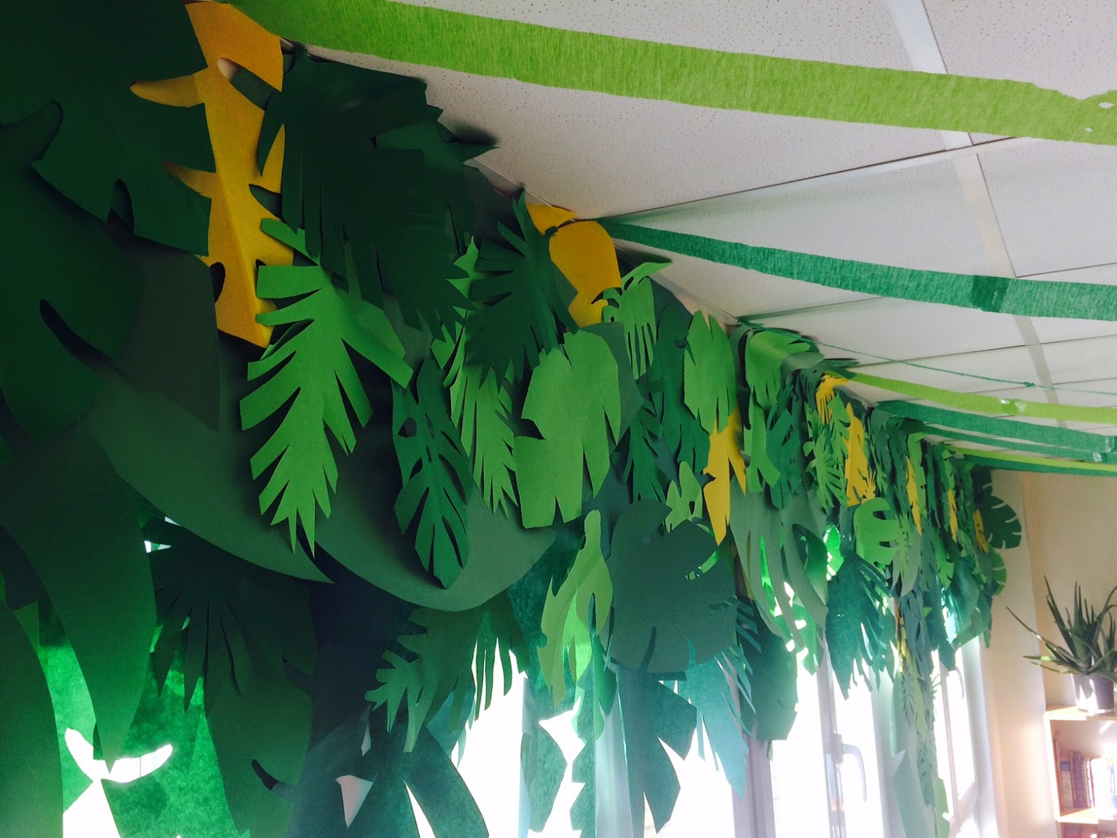 Classroom Decorating Forest Theme ~ The charming classroom island jungle theme