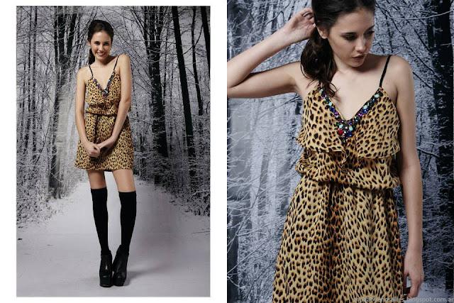 Vestidos de moda invierno 2015 Penny Love.
