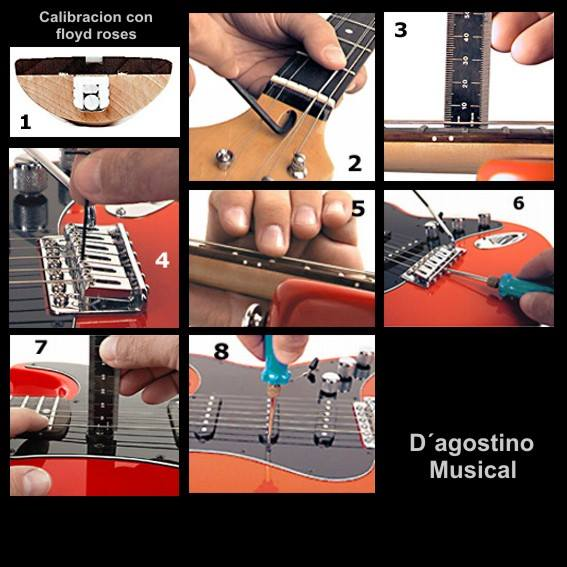 DAGOSTINO MUSICAL - MANTENIMIENTO DE GUITARRAS