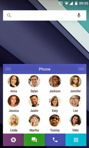 SlideUp Launcher android keren
