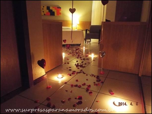 dicas de decoração para um ano de namoro  Surpresas para Namorados