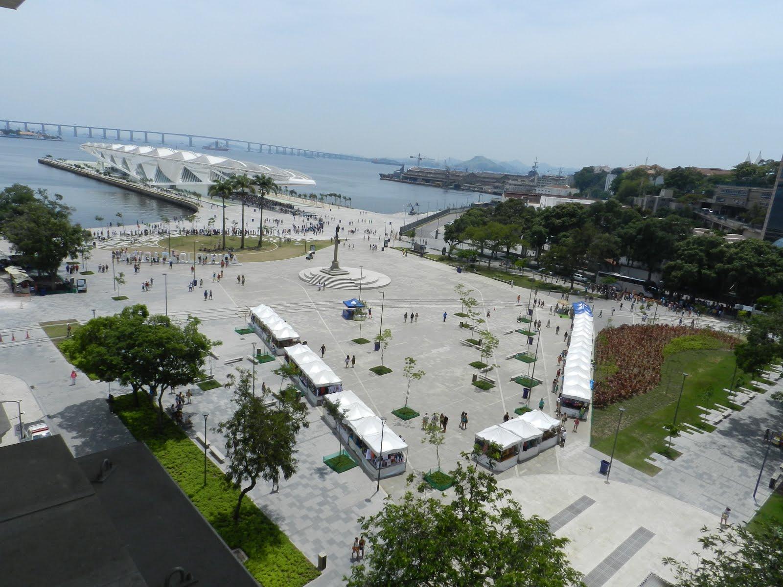 Praça Mauá  (Foto Milton)