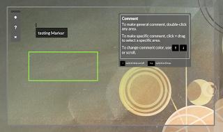 Marker screenshot tool
