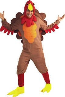 Johnny-O-Turkey Adult Thanksgiving Day Costume