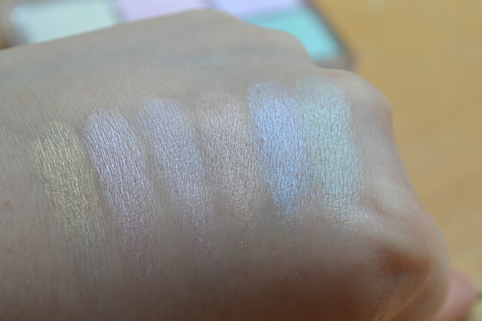 Essence All About Candies swatches