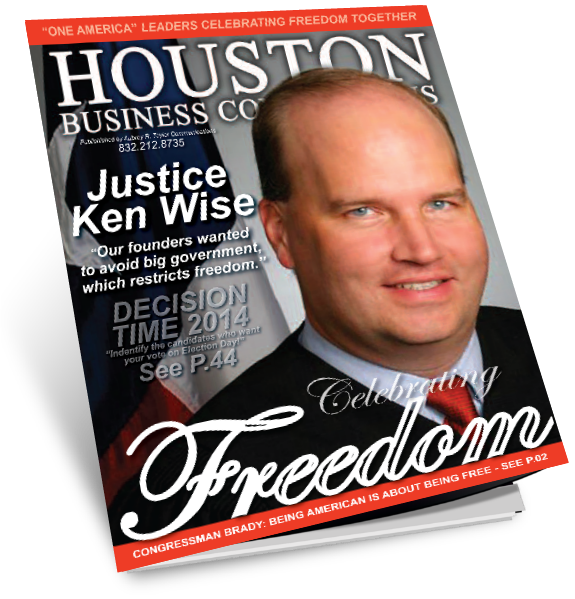 Houston Business Connections Newspaper C Interview Justice Ken Wise