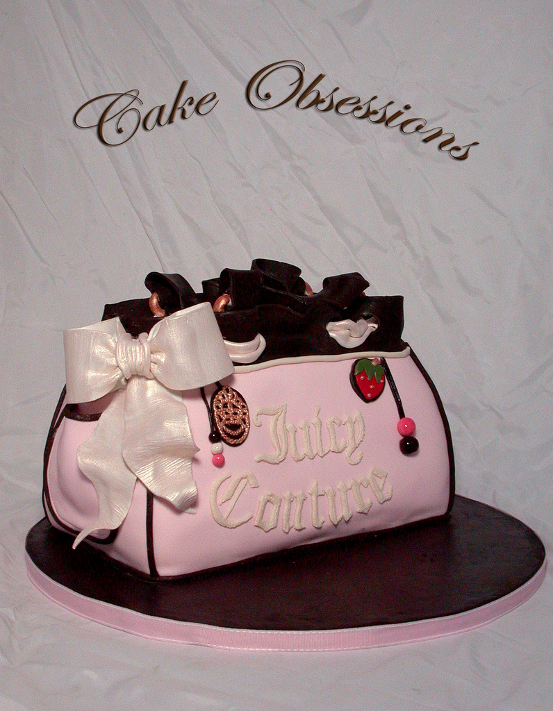 Handbags Cake Design : Like Blogger Blog: People drooling Juicy Couture Purse ...