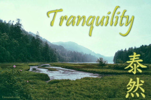 calm, good luck, safe, tranquil