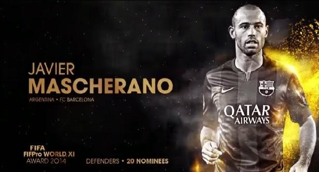 Javier Mascherano, el único ex River nominado