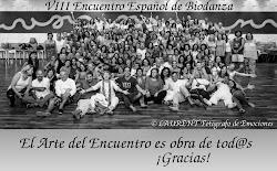 Coorganizamos el VIII Encuentro Español de Biodanza