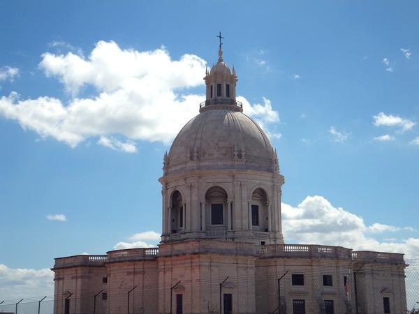 Lisbonne Lisboa alfama panthéon