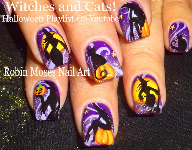 robin moses nail art cute halloween