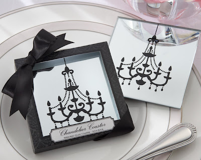 Mirrored Glass Coasters