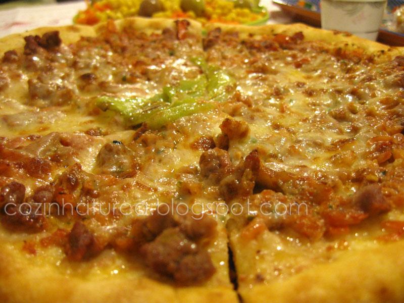 'Pizza' Turca Mista (Karışık Pide)