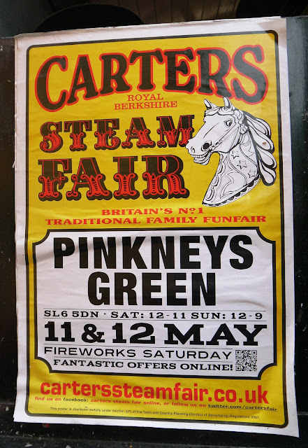 Carters Steam Fair, Pinkneys Green poster