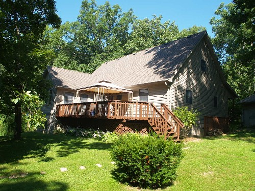 Tour Central Illinois Lake Homes 15957 Vine Lane Sunset
