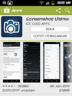 Aplikasi Screenshot Android Paling Sempurna, Mudah dan Keren