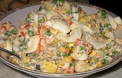 Modern Olivier Salad