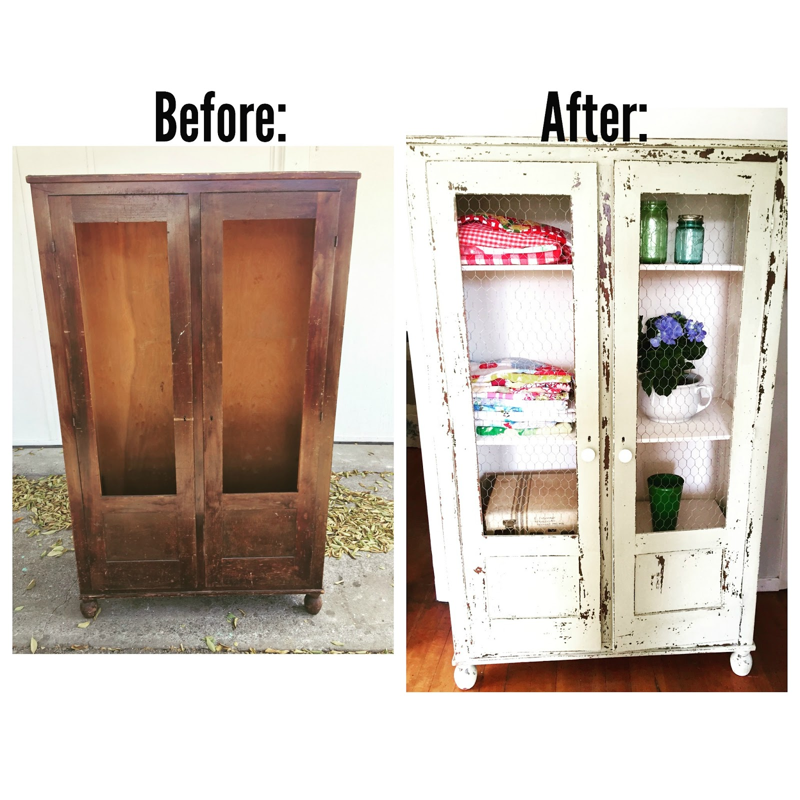 Kitchen Diy Cupboards: D.D.'s Cottage And Design: How To Make An Old Cabinet Have