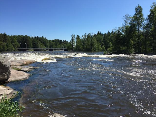 Langinkoski Finland, Langinkoski Nature Trail Finland, River Kimijoki