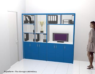 furniture kantor semarang desain lemari dokumen kantor custom 01