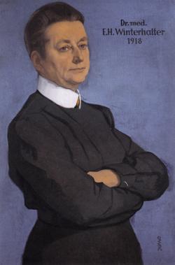 Elisabeth Winterhalter, Portrait von Ottilie Roederstein, 1918, Quelle: Wikipedia