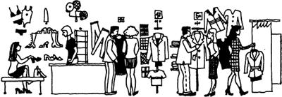 At the Department Store — Покупка одежды и обуви на английском языке