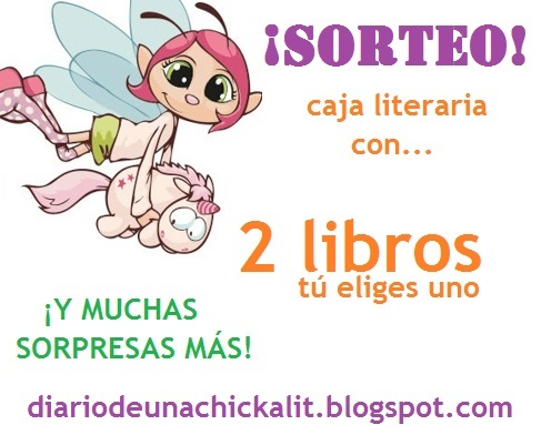 SORTEO Una caja literaria con 2 LIBROS