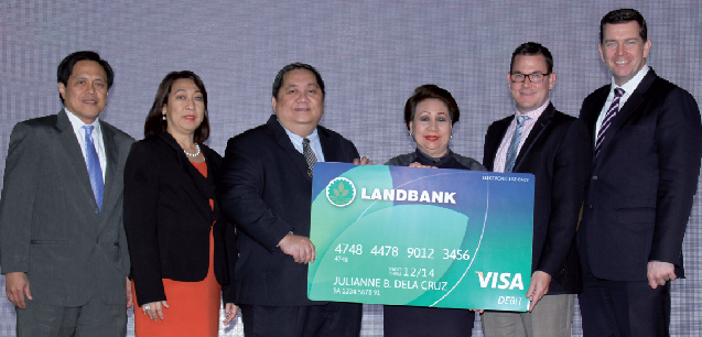 LANDBANK Visa Debit Card
