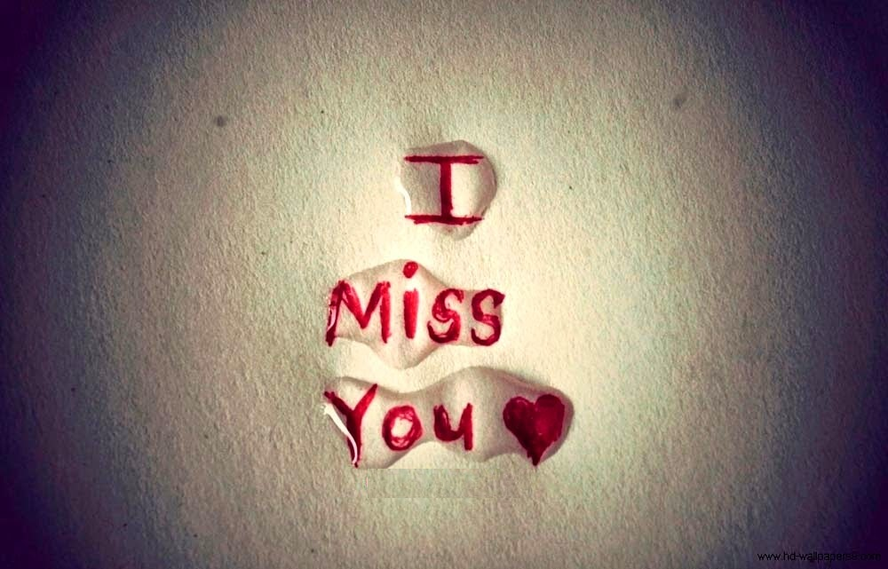 Lovely I Miss You Images