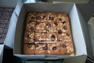 kedut bukan sebarang kedut, brownies kedut, congo bar, enyabdullah,order kek